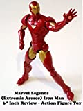 Review: Marvel Legends (Extremis Armor) Iron Man 6