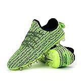 Zapatos de Fútbol Hombre Mujer Zapatos Deportivos Adultos TF Zapatos Entrenamiento de Uñas Rotas, Zapatos de Fútbol 2019 Zapatos de Zapatillas de Deporte