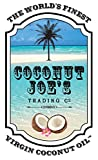 Coconut Oil from Coconut Joes Trading Co. | Organic Coconut Oil, Unrefined Extra Virgin Coconut Oil, 16 Ounce Coconut Oil