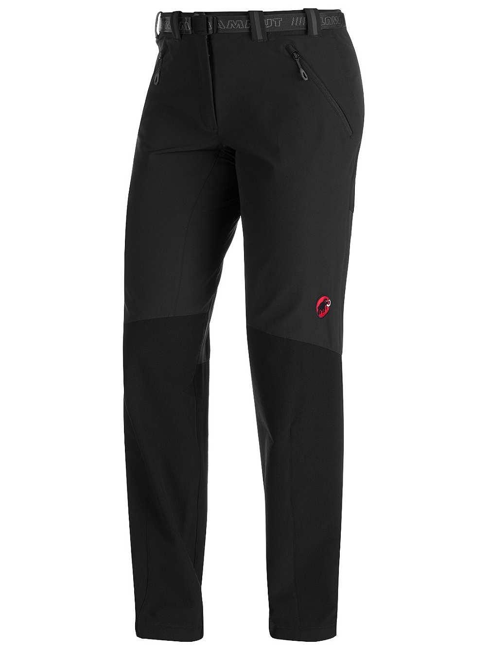 Mammut Courmayeur Pantalon Softshell pour Femme noir