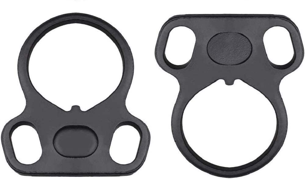 2 Pack End Plate Sling Mount Standard Model Steel Adapters Connection Accessories Wrench Hand Tools for 15