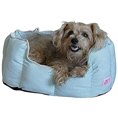 Good Life Solutions Premium Quality Washable Luxury Pet Bed, Small Breed Dog Bed or Cat Bed, Pet Beds with Therapeutic Cushion for Puppies and Kittens to Senior dogs and cats up to 10 pounds.