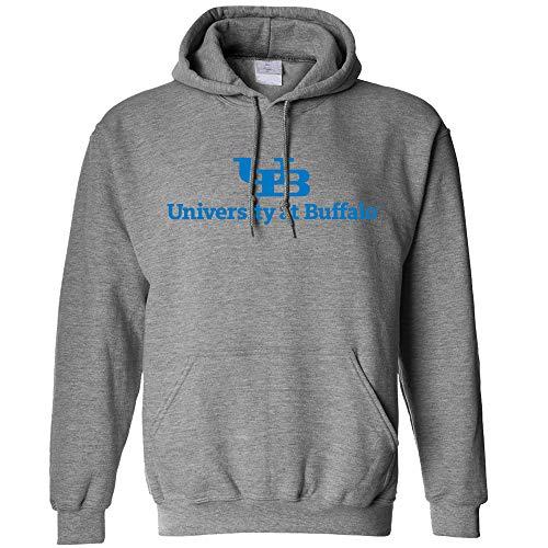 Campus Merchandise NCAA Buffalo Bulls Long Sleeve Hoodie, Medium, Athletic - Bulls Buffalo Apparel