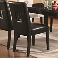 Coaster Dining Chair, Black