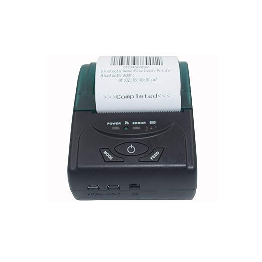 SMAA Mini pequeño Impresora portátil de Etiquetas, 58mm USB ...
