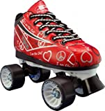 Pacer Heartthrob Roller Skate RED Size 5