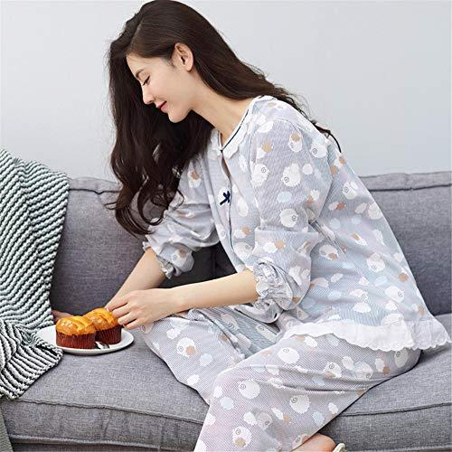 E Algodón En L Deportivos Para Manga M Suaves De Invierno Estudiantes Pijamas Pantalones Hogar 100 Dormir 2 Y Pantalón El Servicios Ocio Juegos Cómodos Larga Baijuxing Otoño 0x4pwTpq