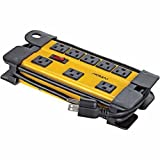 Noma Mastercraft 8-Outlet Power Strip, Heavy-Duty Contractor Grade with 6-Feet Cord