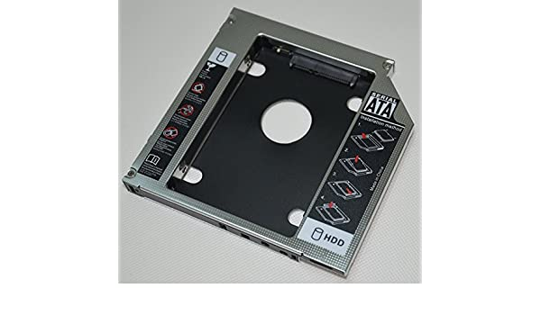 DeYoung 2 nd HDD SSD disco duro SATA Caddy para Toshiba Satellite ...
