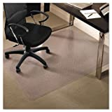 ES Robbinsamp;reg; - 46x60 Rectangle Chair Mat, Professional Series AnchorBar for Carpet up to 3/4amp;quot; - Sold As 1 Each - Protects medium pile carpets up to 3/4amp;quot; thick including padding.