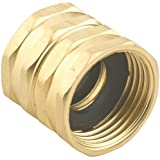 Gilmour 7FHS7FH 3/4-Inch by 3/4-Inch Double Female Swivel Brass Connector