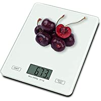 Kuty Digital Kitchen Scale, Multifunction Stainless Steel Food Scales with LCE Display for Cooking, Jewelry etc, Mini Portable Electronic Weight Scale11 lb to 5 kg (Batteries Included)