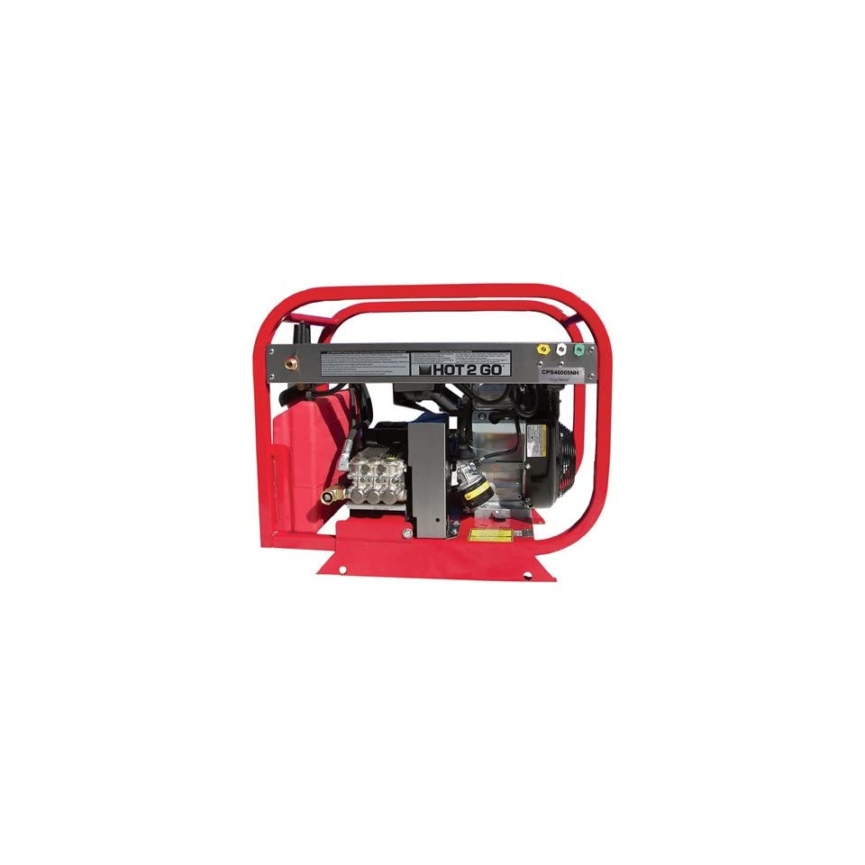 HydroTek Cold Water Pressure Washer with Electric Start   4000 PSI, 4.8 GPM, Model# CPS40005NH