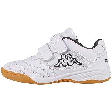 d5226396d Amazon.com   Kappa Indoor Kickoff Children's Indoor Shoes White 260509K    Shoes