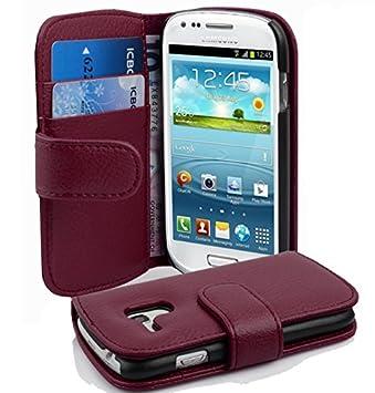 Cadorabo - Carcasa para Samsung Galaxy S3 Mini, color morado