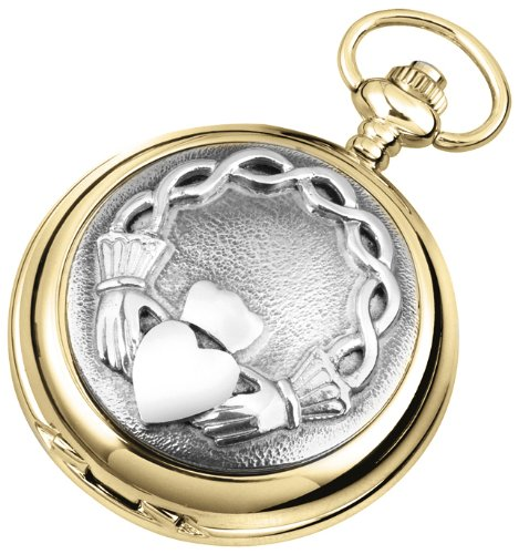 Woodford Men's Mechanical Pocket Watch with White Dial Analogue Display 1945/SK