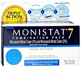 MONISTAT 7 Triple Action System, Combination Pack, 7-day Treatment 1 ea (Pack of 6)