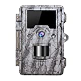 "OUDMON Trail Game Camera 16MP 1080p 30fps FHD Waterproof IP67 Wildlife Scouting Hunting Cam with 940nm 48Pcs No Glow IR LEDs Motion Activated Night Vision 2.4"" LCD"