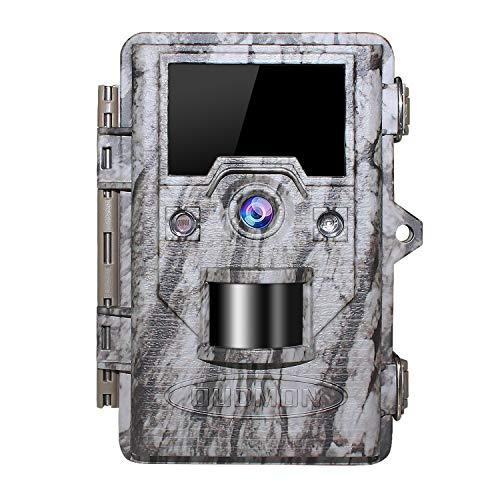 OUDMON Trail Game Camera 16MP 1080p 30fps FHD IP67 Waterproof Wildlife Scouting Hunting Cam with...