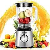 Homdox Countertop Blender 800W 60.8oz Smoothie Blenders Personal...