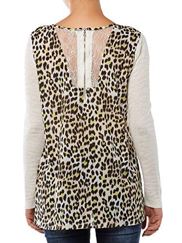 Guess Jersey Marfil / Leopardo