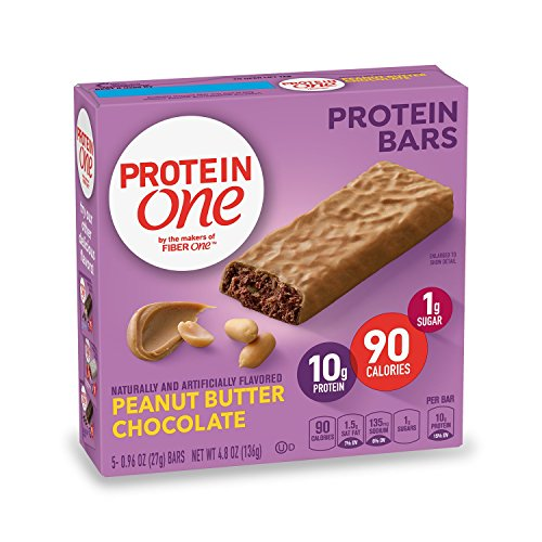 Protein One 90 Calorie Protein Bar, Peanut Butter Chocolate, 4.8 oz(us) (Best Value Protein Bars)