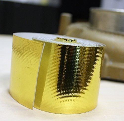 5m Hitzeschutzband Tape Band GOLD für Turbolader G60 G40 VR6 16V DUB