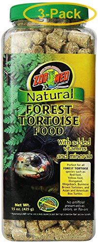 Zoo Med Natural Forest Tortoise Food 15 oz - Pack of 3 ()