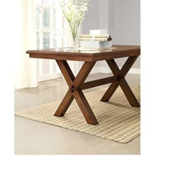 better homes and gardens dining table. Better Homes And Gardens Maddox Crossing Dining Table, Brown Table A