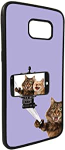 Silvie picture - cats Printed Case forGalaxy S7 Edge