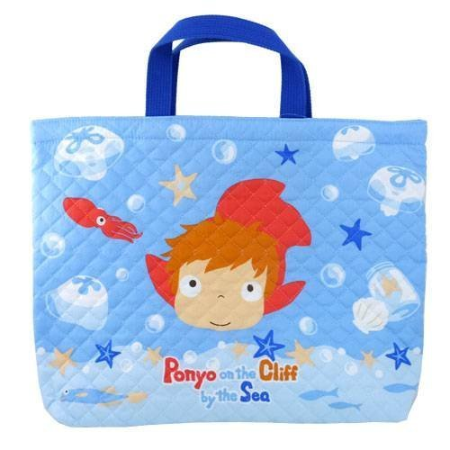 Studio Ghibli, Ponyo on the Cliff by the Sea Tote bag by Marushin