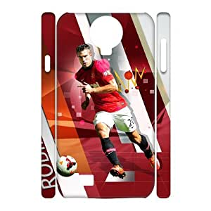 C-EUR Cell phone case Robin van Persie Hard 3D Case For Samsung Galaxy S4 i9500