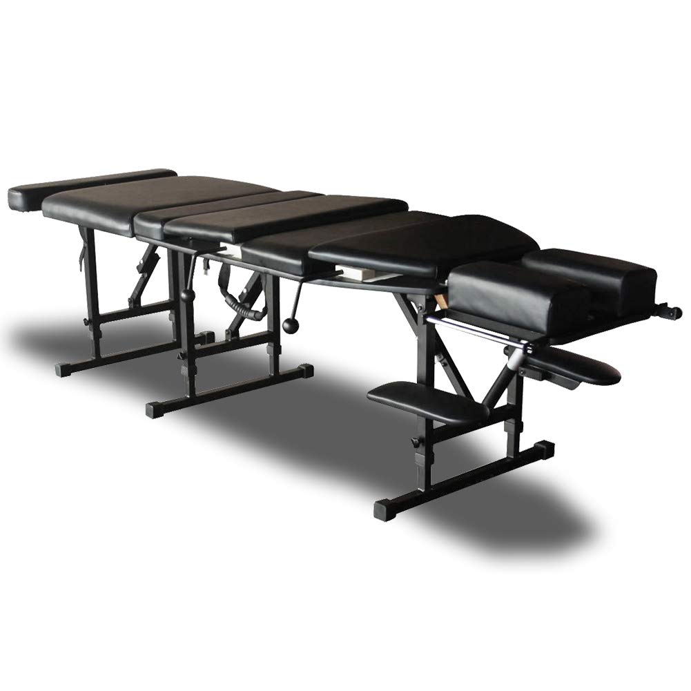 Sheffield 180 Elite Professional Portable Chiropractic Table – Charcoal