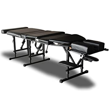 Sheffield 180 Elite Professional Portable Chiropractic Table Charcoal