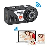 Fuers Hidden Camera Q7 Wifi IP SPY Mini DV Camera, Digital Video Recorder Camcorder with Night Vision and Motion Detection