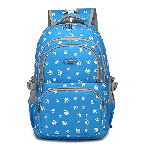 - School Backpack for Girls, Waterproof Canvas Laptop Backpacks Book Bag Set Lightweight Canvas Backpack for Teen Girls Boys