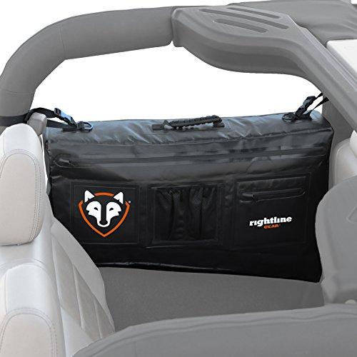 Jeep Wrangler Gear - Rightline Gear 100J74-B Black Side Storage Bag for Jeep Wrangler JK (2-door)
