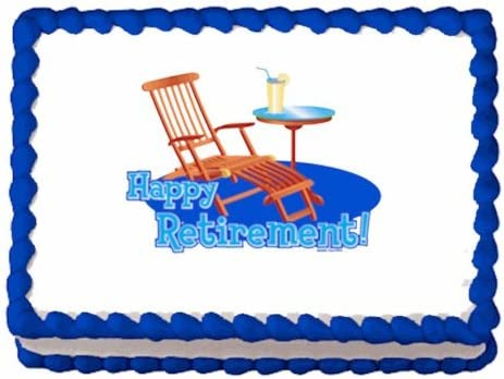 Fishing Log House Birthday Party Edible Cake Topper 1//4 FROSTING sheet Icing