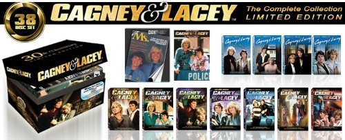 Cagney & Lacey// Complete Collection/Bonus an original signed photo from Sharon Gless and Tyne Daly