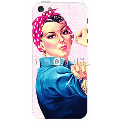 COQUE PROTECTION TELEPHONE Iphone 5 ET 5S - WOMEN MUSCLE VINTAGE