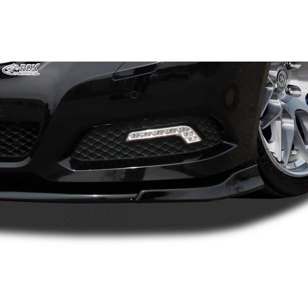 RDX Frontspoiler VARIO-X E-Klasse W212 2009-2013 Frontlippe Front Ansatz Vorne Spoilerlippe