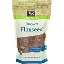 365 Everyday Value Organic Brown Flaxseed, 16 Ounce