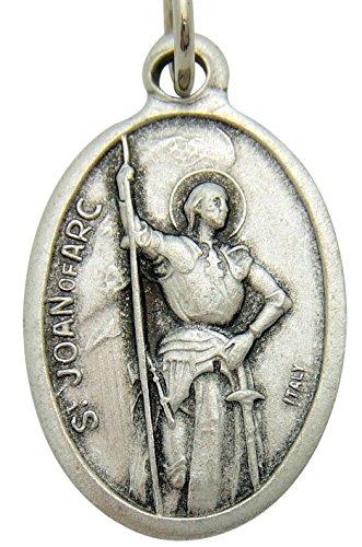 Saint Joan of Arc Pendant Medal 3/4
