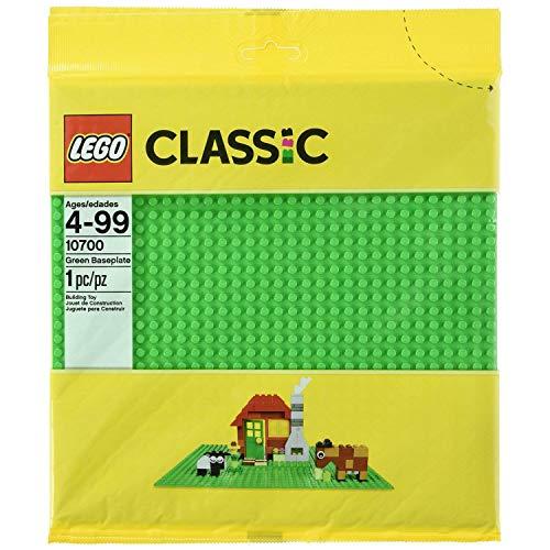 LEGO Base 32 x 32 Stud Building Plate 10 x 10 Inch Platform, Green (2 Pack)