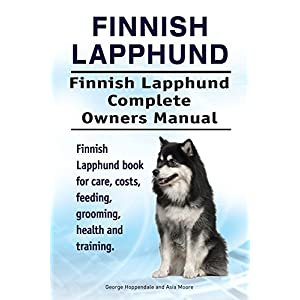 Finnish Lapphund Dog. Finnish Lapphund dog book for costs, care, feeding, grooming, training and health. Finnish Lapphund dog Owners Manual. 1