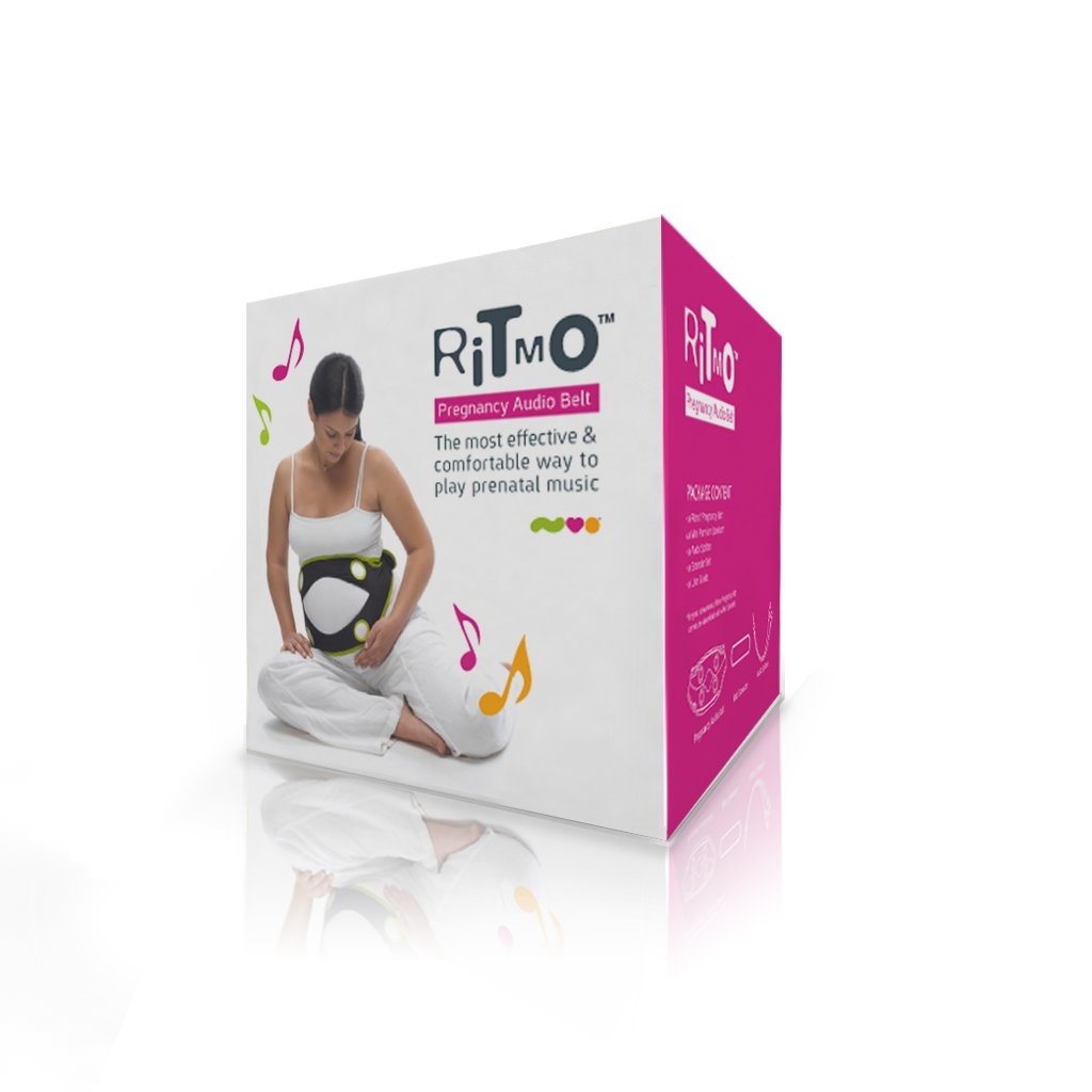 Nuvo Ritmo Pregnancy Audio Belt, Black by Nuvo: Amazon.es: Bebé
