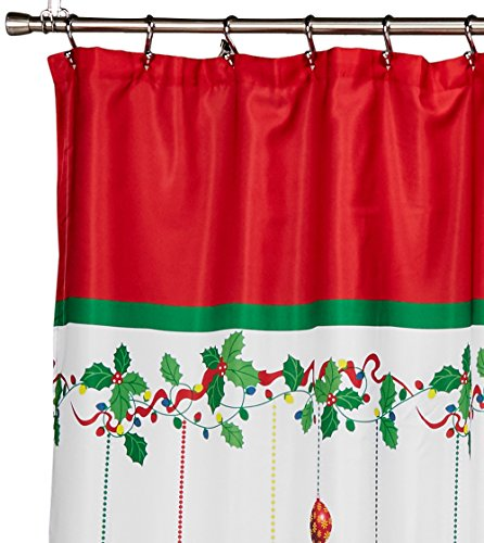 Linen Lorraine Home Fashions: LORRAINE HOME FASHIONS Gift Box Shower Curtain, 70 By 72