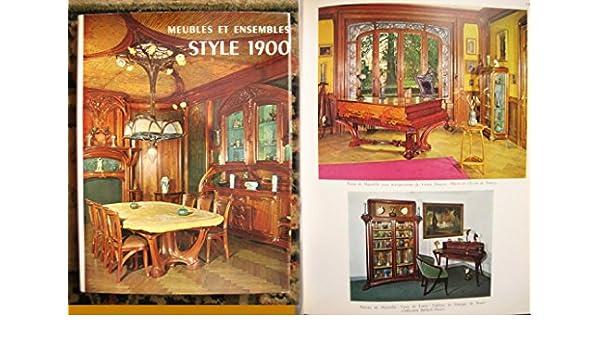meubles et ensembles style 1900 edith mannoni amazoncom books
