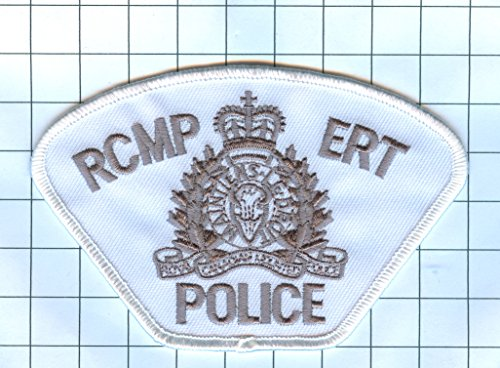 [Police Patch Embroidered Patch Collectible - International Police - CANADA R.C.M.P ERT] (Canada Collectible Pin)