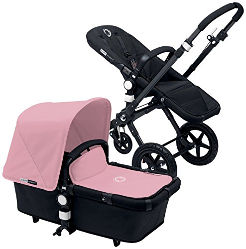 Bugaboo Cameleon3 Complete Stroller - Soft Pink - Black